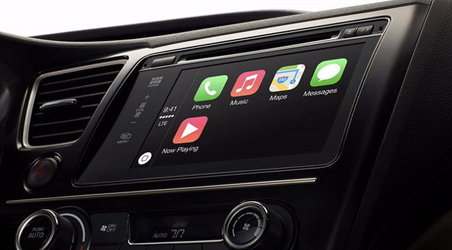 Tak dzia�a Apple CarPlay