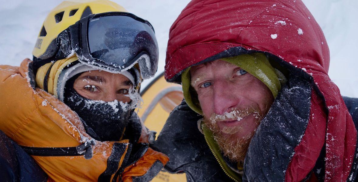 Elisabeth Revol i Tomasz Mackiewicz podczas wyprawy na Nanga Parbat