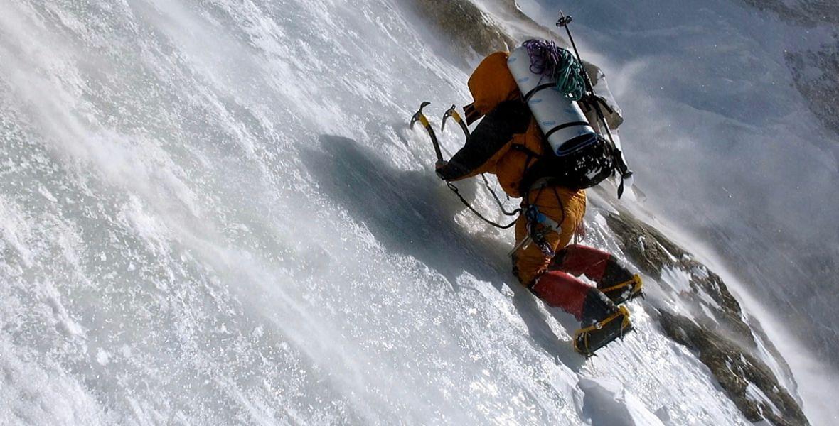 Elisabeth Revol podczas wspinaczki na Nanga Parbat