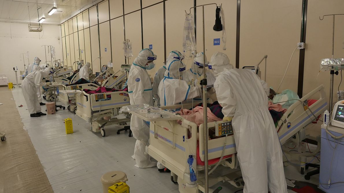 Lekarze, ratownicy i pielęgniarki z Medycznego Zespołu Ratunkowego PCPM przez cztery tygodnie wspierali personel medyczny w Etiopii