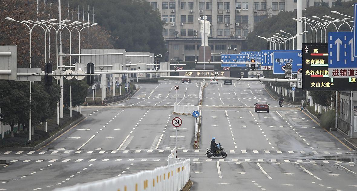 W lutym Wuhan przypominało już miasto wymarłe
