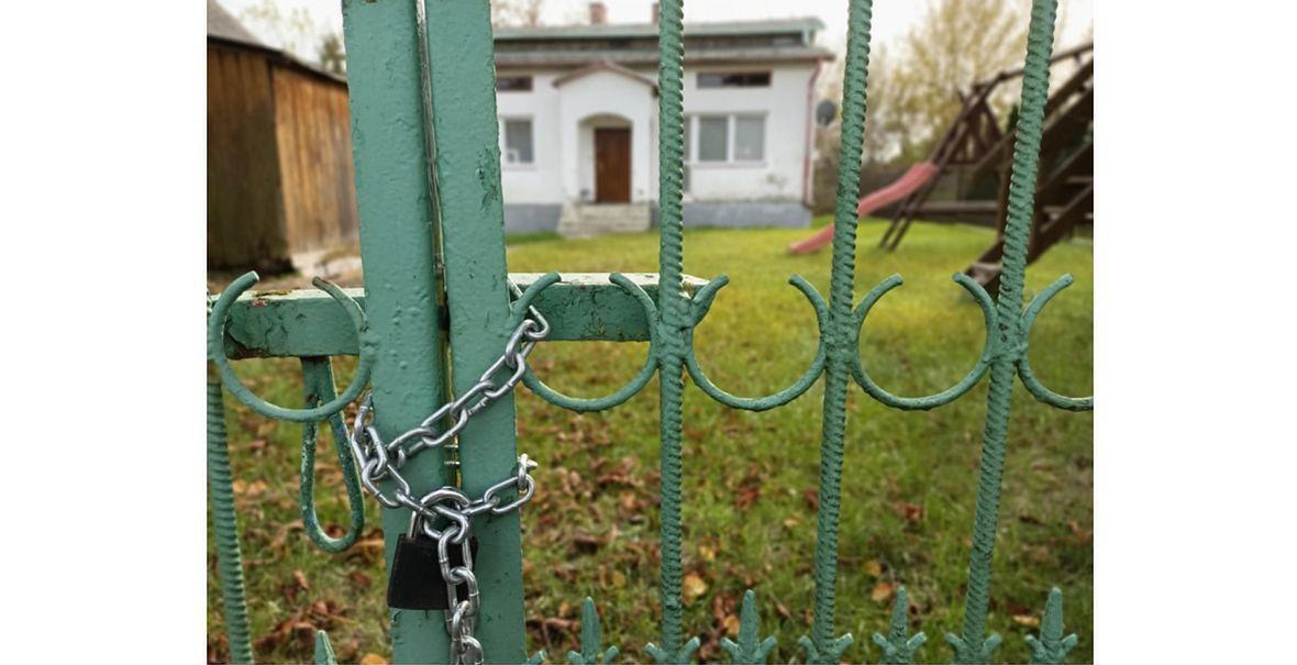 Lisów pod Radomiem. Dom, w którym doszło do tragedii