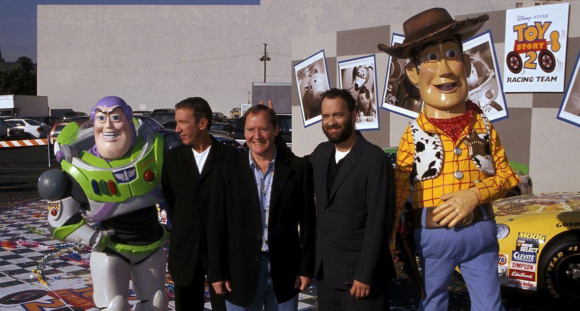 """Dotychczas związki Hanksa z westernem były raczej symboliczne - użyczył głosu kowbojowi Chudemu z """"Toy Story"""""""