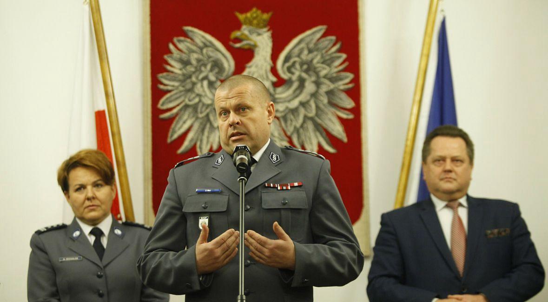 Inspektor Zbigniew Maj, były KG Policji w latach 2015 -2016