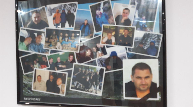 Zdjęcia Marka Dziakowicza w jego dawnym komisariacie. Nikt nie miał śmiałości usiąść przy jego biurku