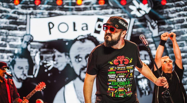 Arkadiusz Jakubik i dr Misio w Operze Leśnej w Sopocie. Sierpień 2018
