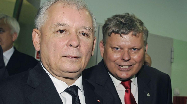 Kampania prezydencka Jarosława Kaczyńskiego, wrzesień 2010 roku. Prezes PiS odwiedza Radom, w którym Marek Suski najpierw tworzył struktury partii, a potem niepodzielnie dzielił i rządził