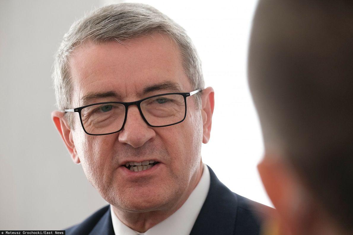 Były minister nauki Wojciech Murdzek