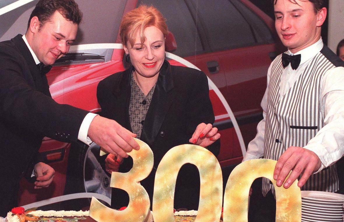 2 grudnia 1997 roku. Krystyna Janda po raz trzysetny wystąpiła na deskach Teatru Powszechnego jako Shirley Valentine. Do dziś tych przedstawień było 382