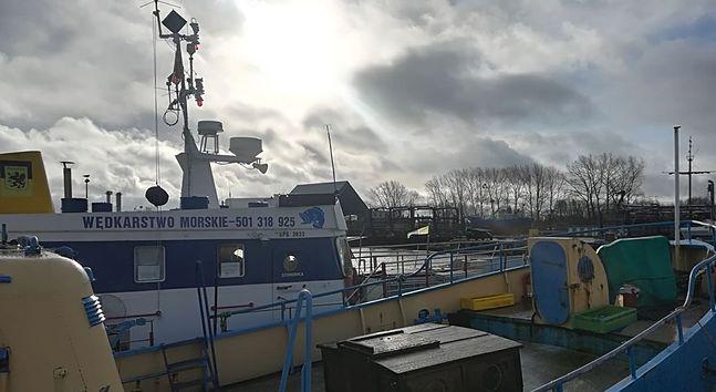Zakaz połowów dotyczy również jednostki, które woziły w morze wędkarzy