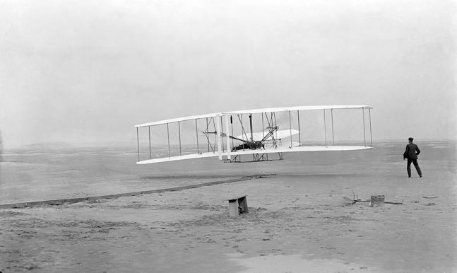 Latająca maszyna braci Wright