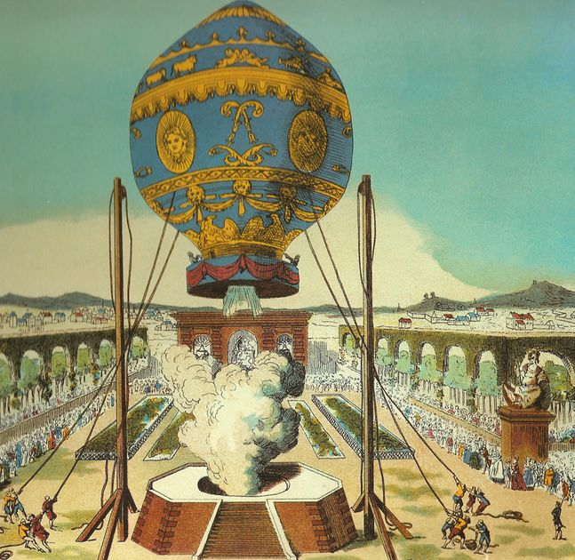 Balon Jospeha i Jacquesa Montgolfierów